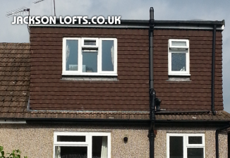 Dormer loft conversion built by Jackson Loft Conversion