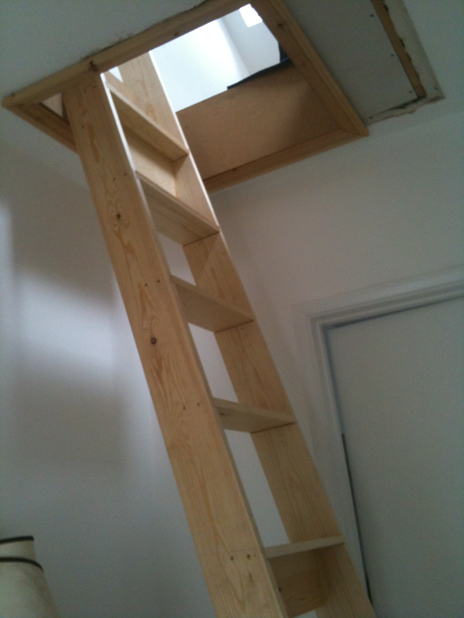 Permanent Loft Ladder To Play Room Jackson Loft Conversions