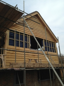 Extension oak clad