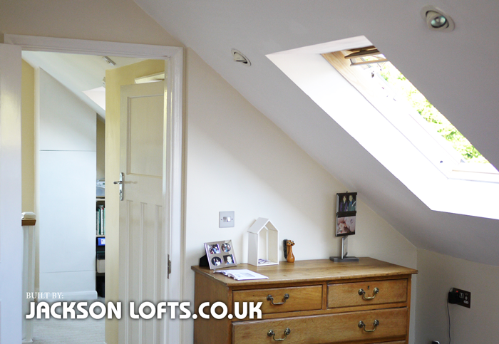 Velux window fitter, Jackson Loft Conversions, Brighton