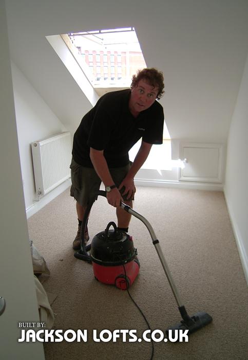 Richard is a tidy and considerate carpenter, Jackson Lofts Brighton
