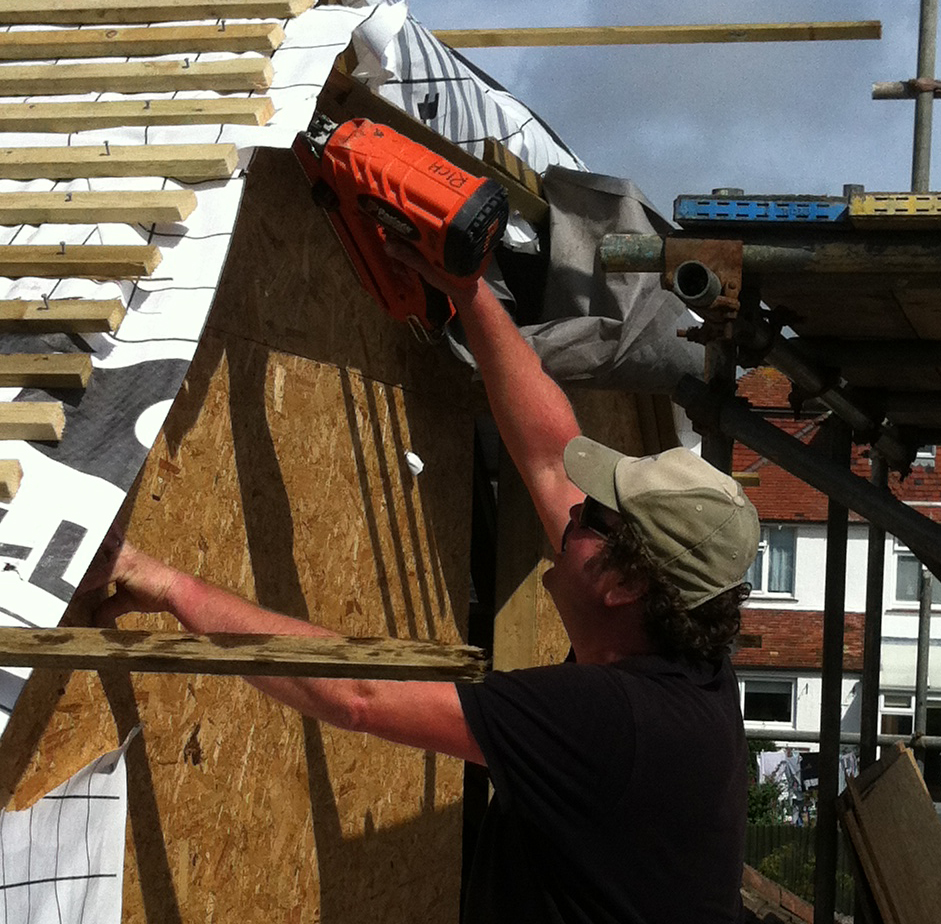 Richard Jackson Building a Loft Conversion, Brighton