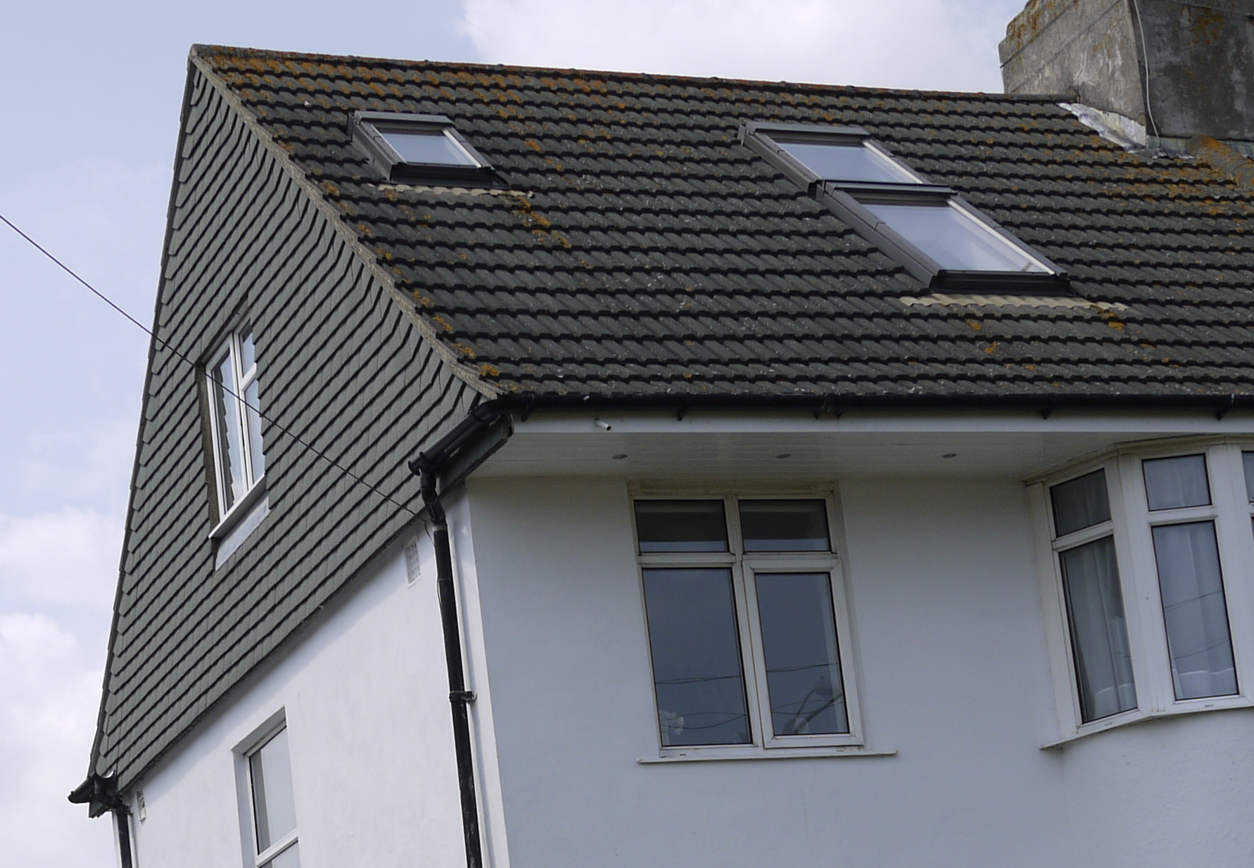 Types of roofs on loft conversions jackson loft conversions for Able to gable roofing