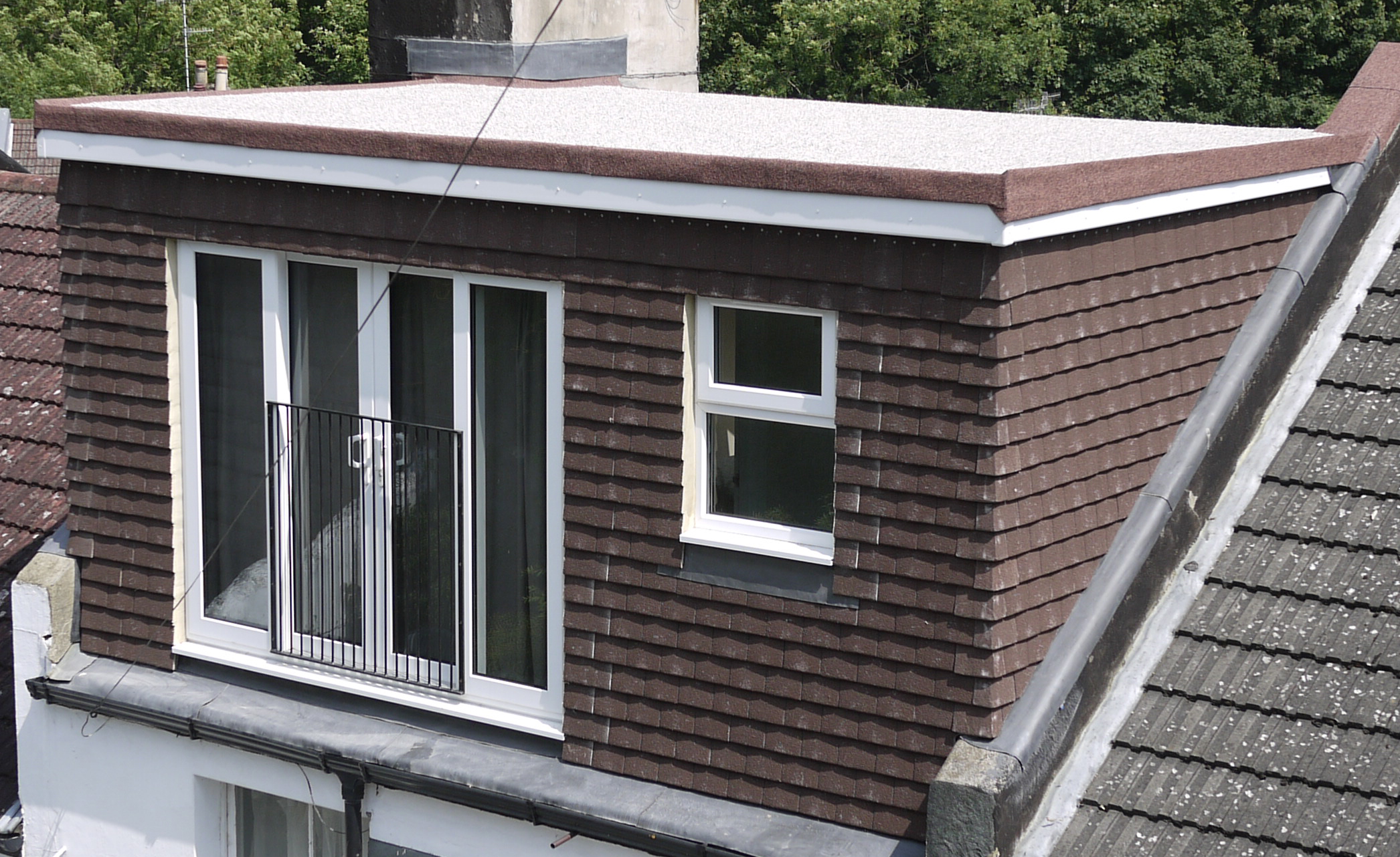 Types of roofs on loft conversions jackson loft conversions for Box gable roof