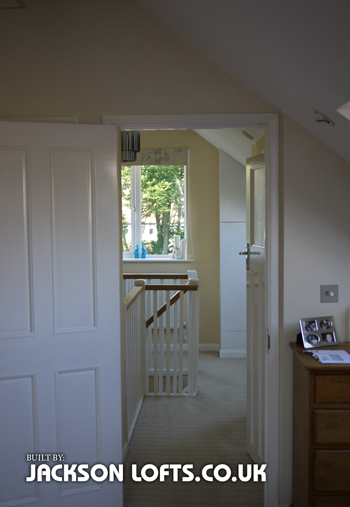 Before and after loft conversion by Jackson Loft Conversion