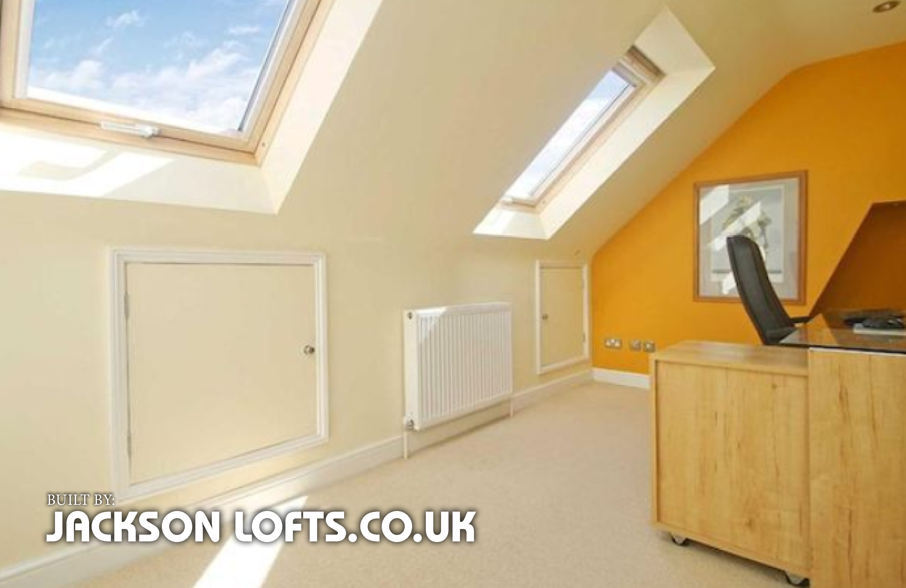 Loft conversion built by Jackson Lofts, Brighton