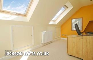 Loft conversion built by Jackson Lofts, Brighton