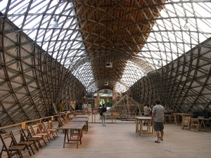 Weald and Downland Open Air Museum, The Jerwood Gridshell Space