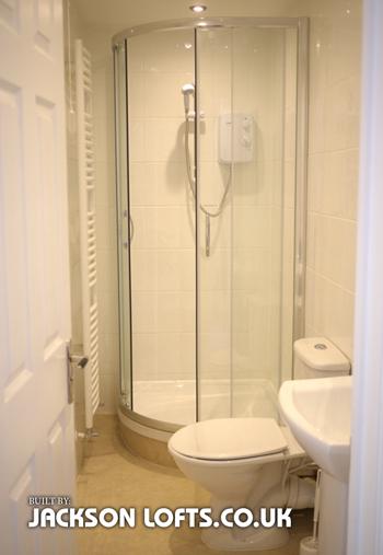 Additional bathroom built by Jackson Lofts, Brighton