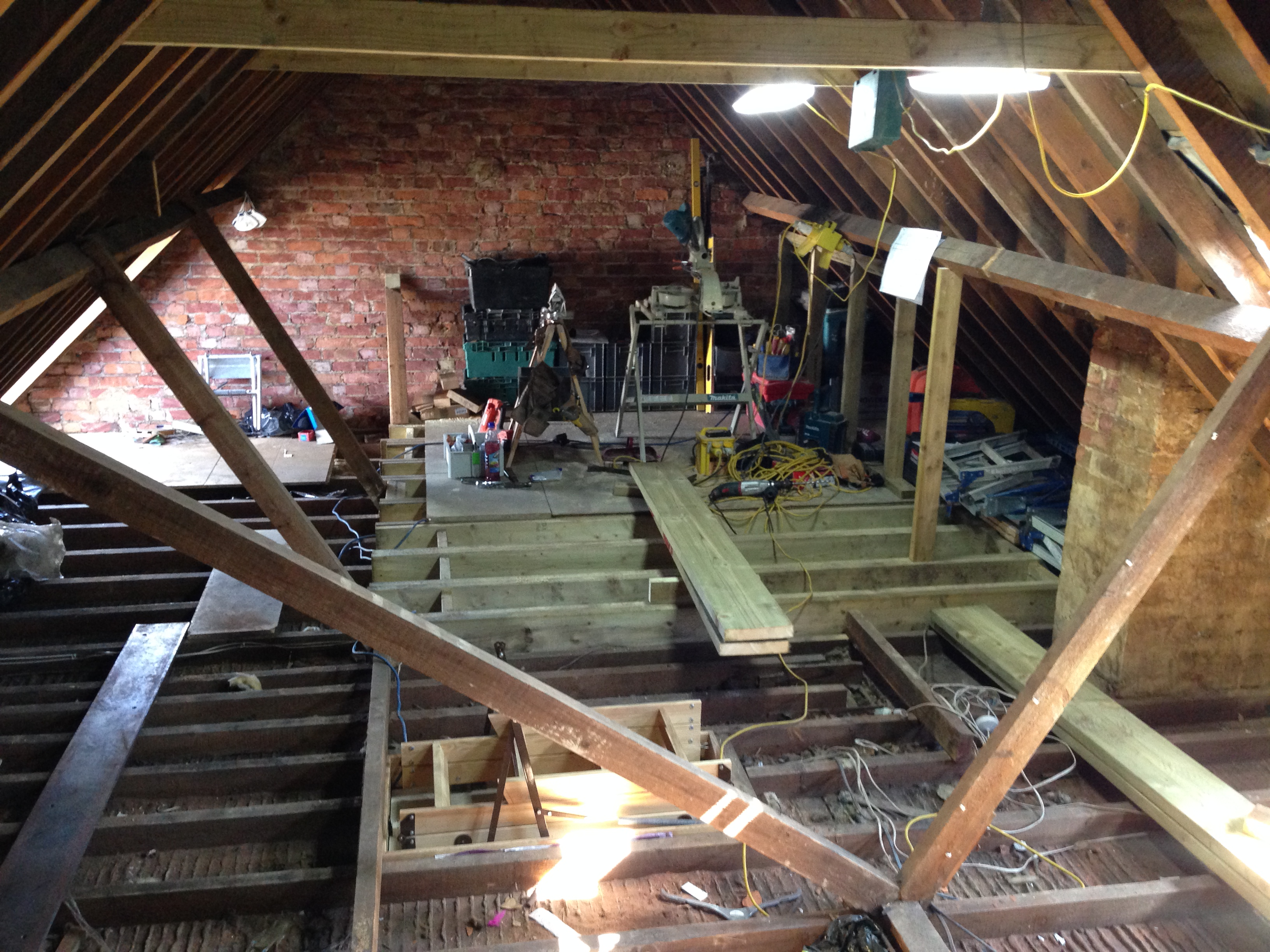 Part build loft conversion by Jackson Lofts