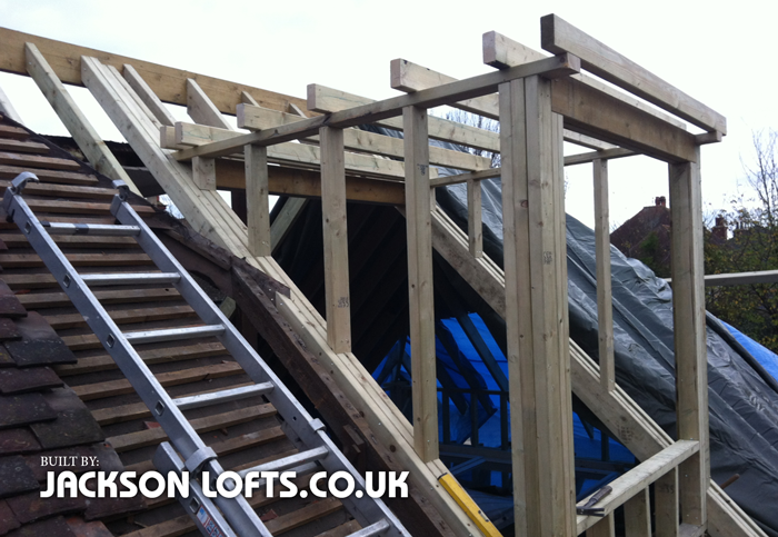 Small flat roof dormer by Richard Jackson, Carpenter, Brighton