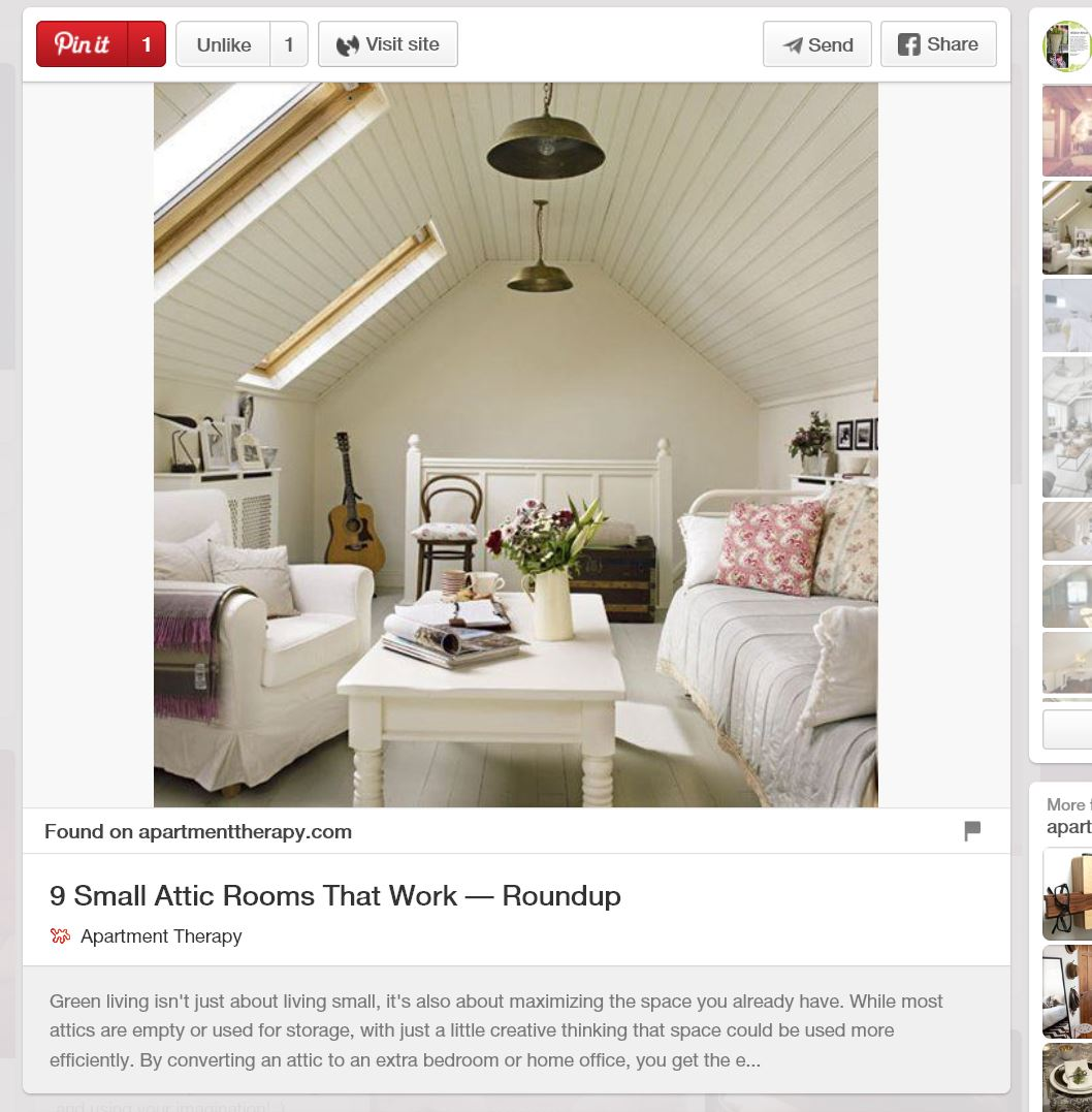 Pinterest, sitting room loft conversion liked Jackson lofts