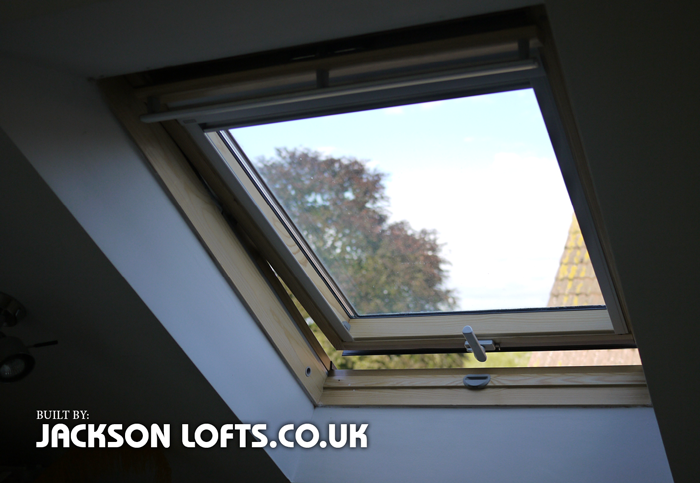 Replacement Velux, skylight, roof windows by Jackson Lofts