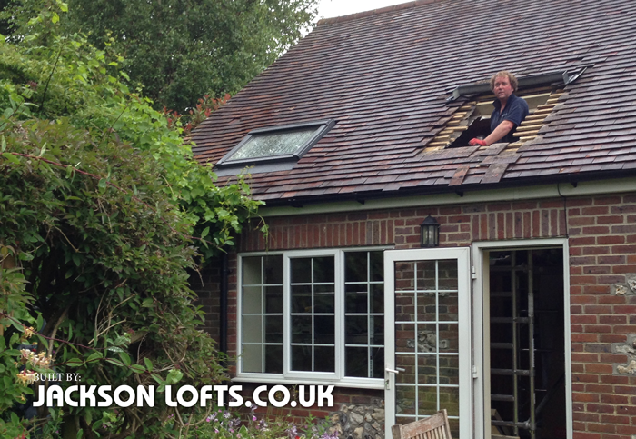 Velux window fitter sussex, Jackson Lofts