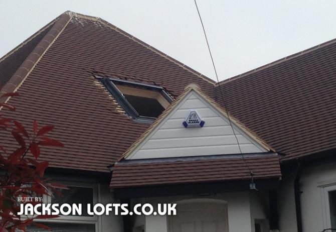 Replacement bungalow Velux window, Jackson Lofts, Brighton