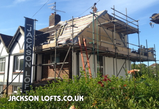 Hove loft conversion built by Jackson Lofts