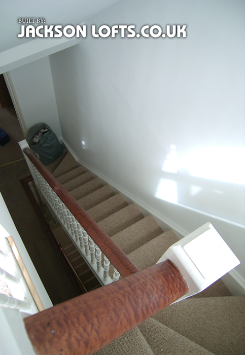 Bespoke Spindles For Loft Conversion Staircase Built By Jackson Lofts  Brighton
