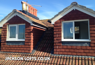 Pitch roof dormers, built in Brighton by Jackson Lofts, Loft Conversions and Carpentry