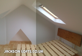 Built by Jacksons Loft Conversion and Carpenter Brighton