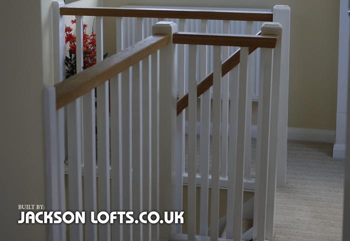 Built by Richard Jackson, Jackson Loft Conversions and Carpentry, Brighton, Sussex