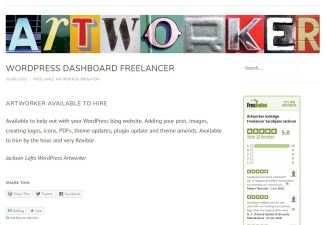 WordPress Assistant, Freelance Artworker Brighton