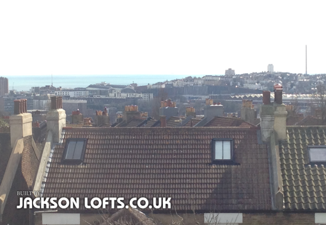 Jackson Loft Conversion in Brighton and Hove, East Sussex