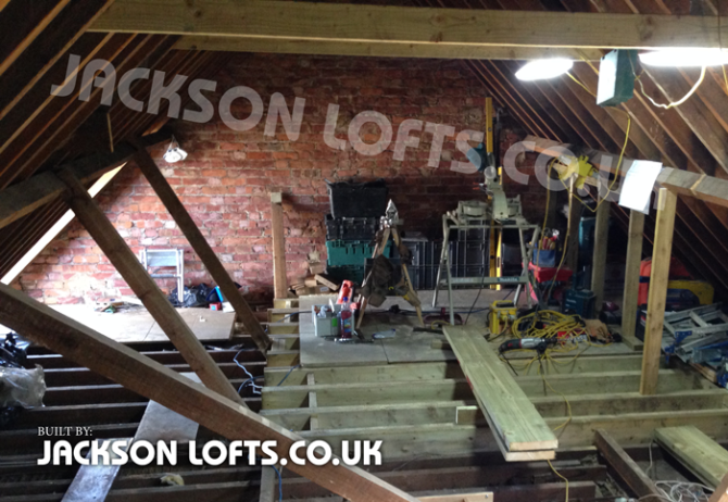 Built by Jackson Loft Conversion company in Brighton and Hove, East Sussex