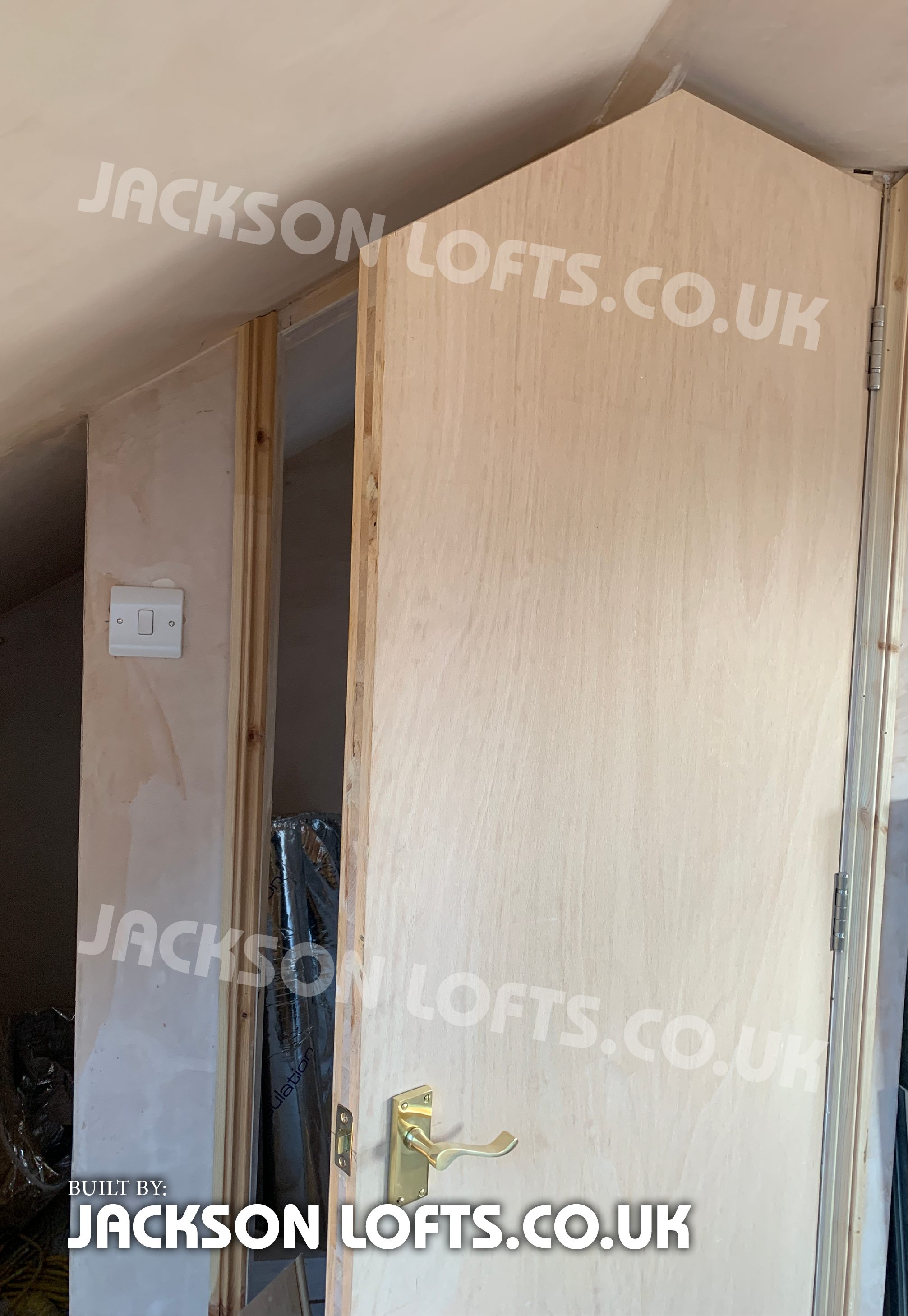 Bespoke door, made to measure by Richard Jackson Carpenter, Loft Conversion in Brighton & Hove