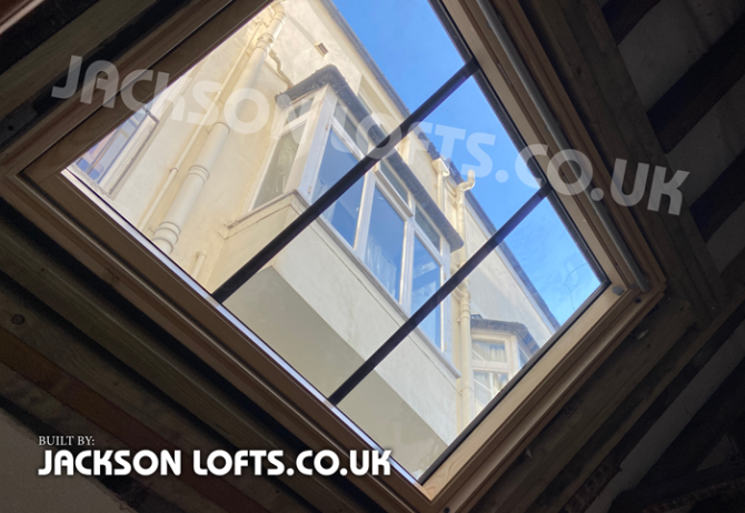 Velux fitted by Richard Jackson, Jackson Loft Conversion, Brighton